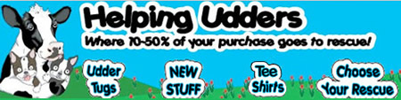 Shop at Helping Udders and support Special Pets Rescue