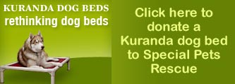 Donate a Kuranda bed to Special Pets Rescue