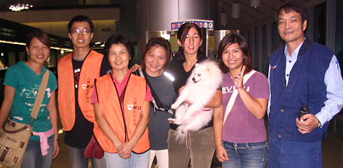 Special Pets Rescue volunteers in Taiwan